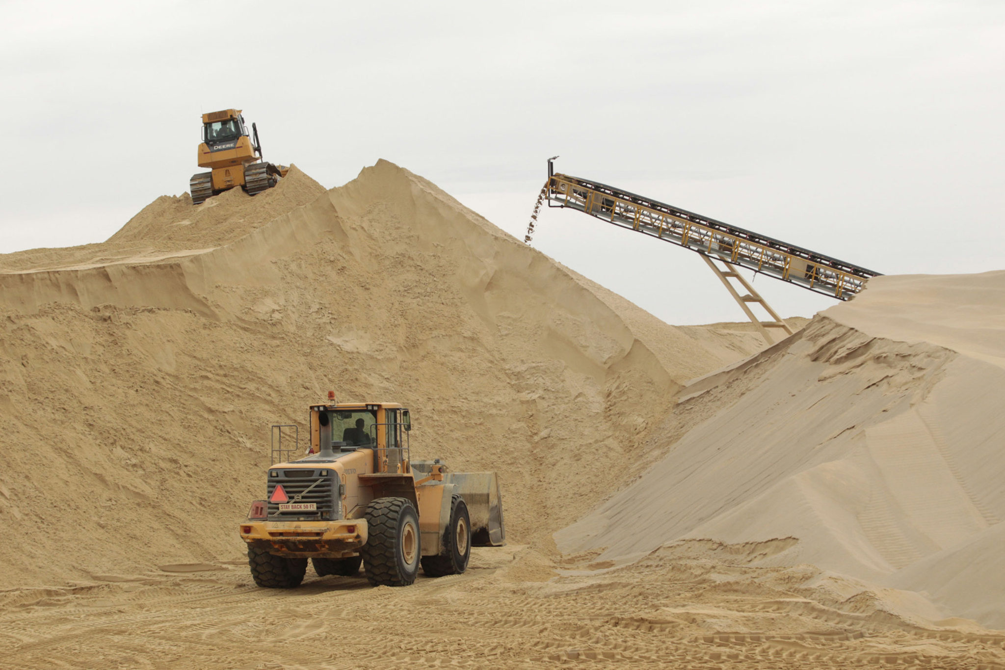 Industrial Sand processing